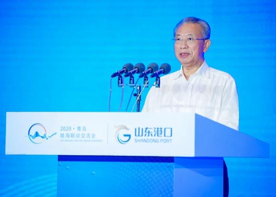 陆海联动研讨会在山东青岛举行,东西互济共促双循环