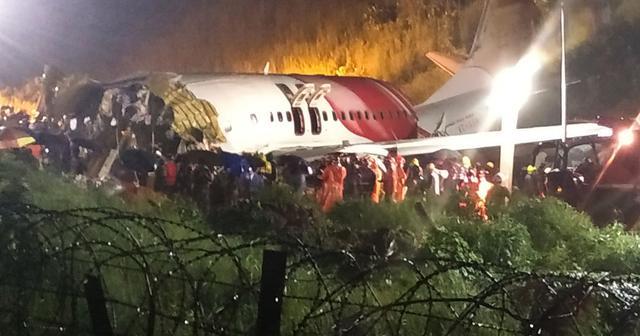 又是波音737   印度客机摔成两截 坠机事件更多细节公布