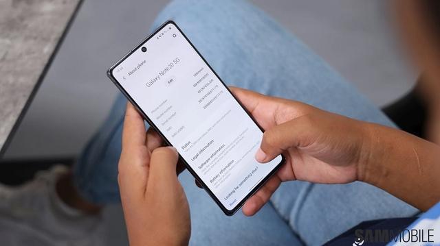 三星为Galaxy Note 20系列智能机发布首个软件更新