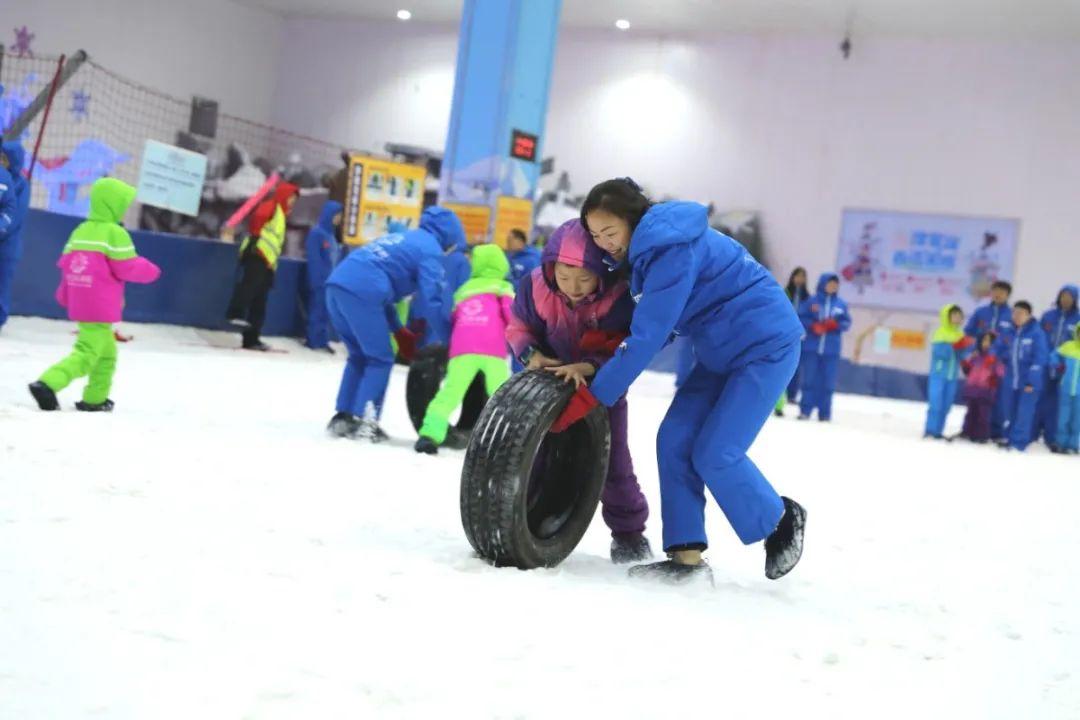 冰雪运動重庆市社会体育引导中央供图