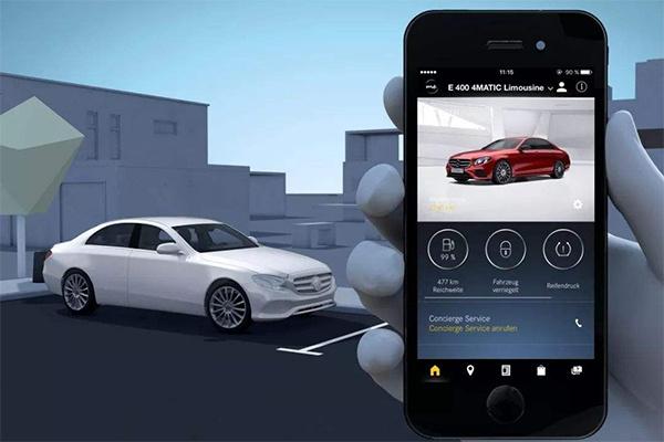 可远程查看车辆状态 奔驰推出三款手机应用