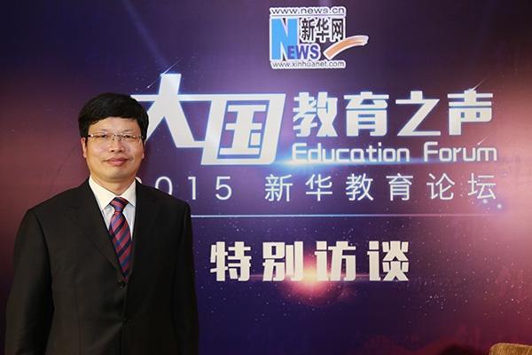 浙江大学宣传部部长应飚。新华网 资料图