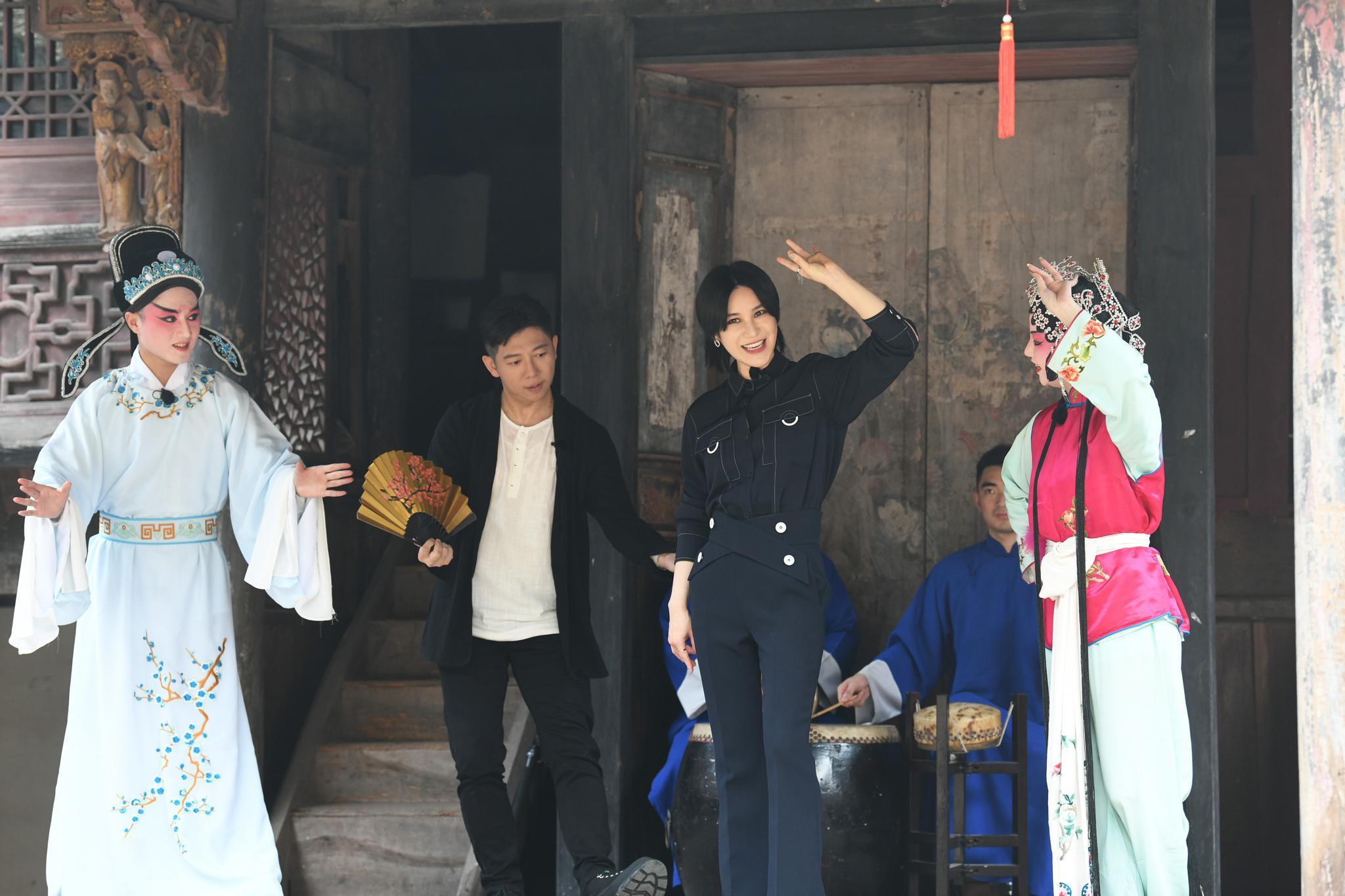 《还有诗和远方》首播,尚雯婕古诗新唱《游仙吟》首发