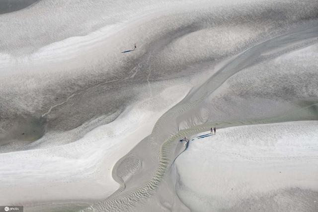 壮观 航拍德国旺格奧格海滩夏日风光