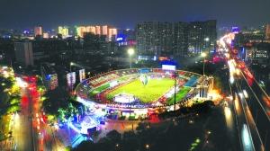 一场体育与城市的互动 南昌首届体育夜市盛大开市