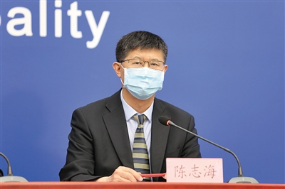 地坛医院感染二科主任陈志海。