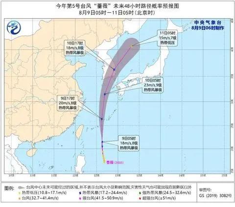 """第5号台风""""蔷薇""""生成!珠海下周天气有大变化!"""