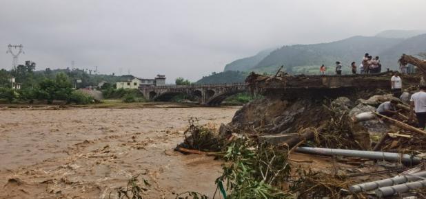 """陕西省洛南县""""8·6""""暴雨洪涝灾害致4人死亡 11人失联 直接经济损失约15亿元"""