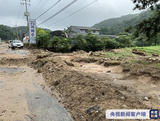 韩国暴雨灾害已累计造成28人死亡,4466人被迫转移