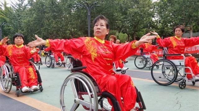 河北省第十届残疾人健身周活动在石家庄举行