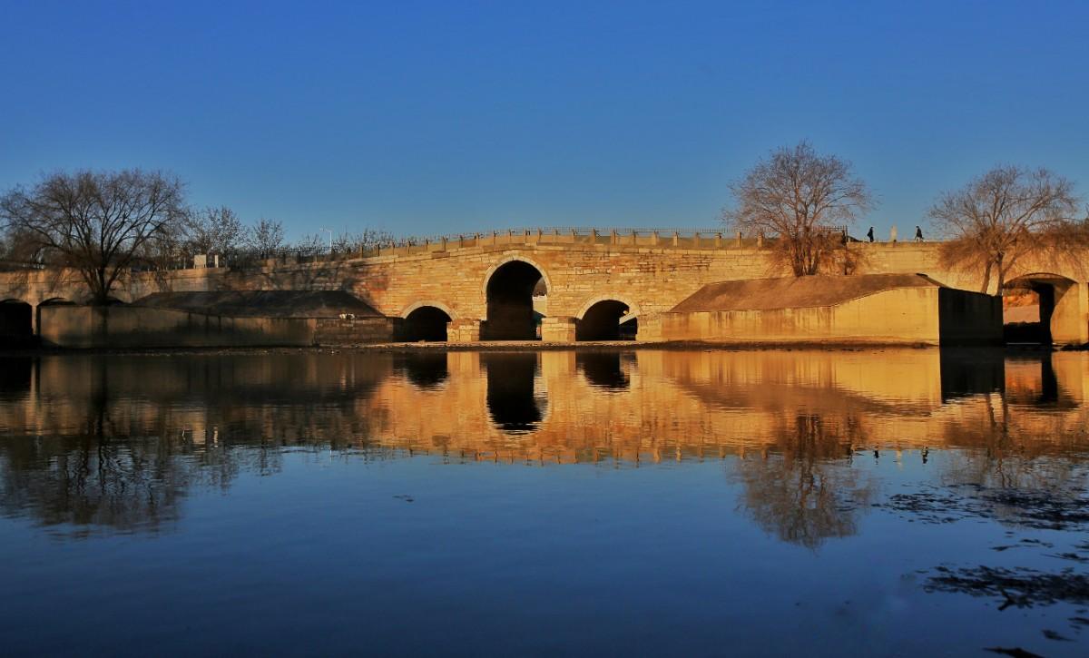 600年老石板重见天日!北京八里桥将恢复古桥原貌