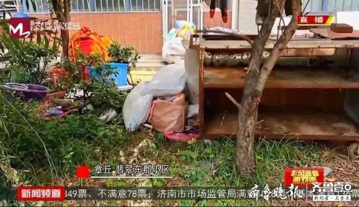 """垃圾遍地、监控成摆设…济南这个小区物业被指""""不作为"""""""