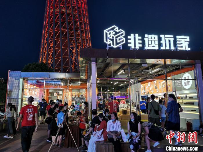 广州潮墟创意市集开张 点亮广州夜经济