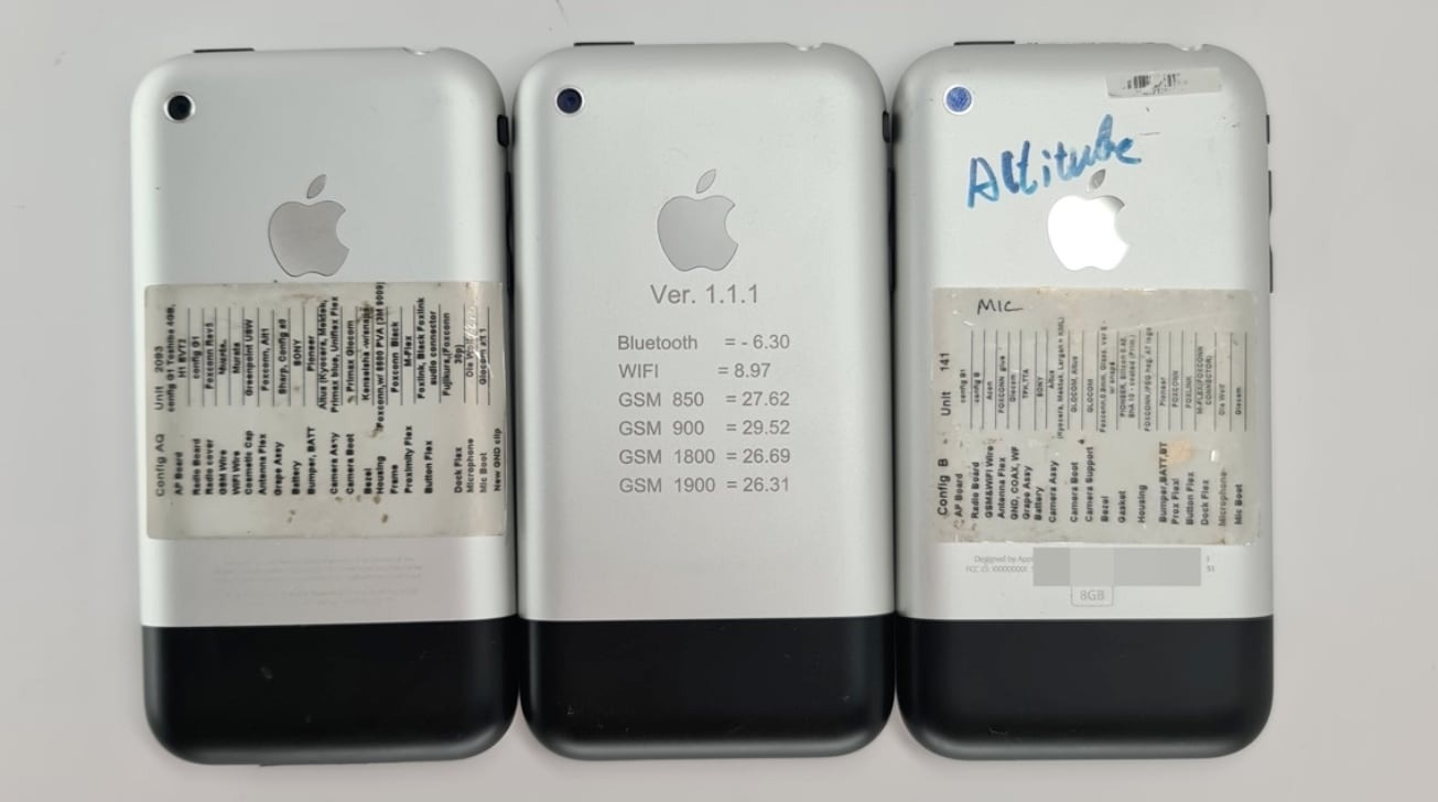 """初代iPhone原型图像再曝光:静音开关有个""""小铃铛"""""""