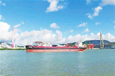 珠海港集团第5艘万吨级散货船首航
