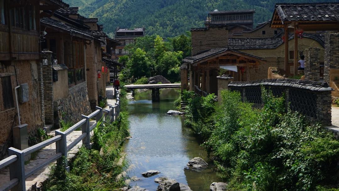 福建省龙潭村:古村落里的新生活