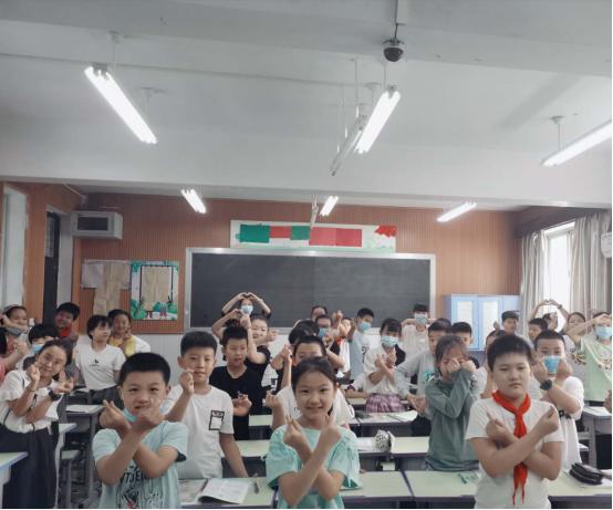 冠城实验小学:最美的教师节 在此向您献
