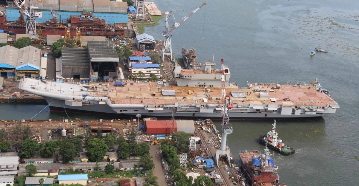 印度海军新野心:建三航母战斗群 声称目标是世界一流