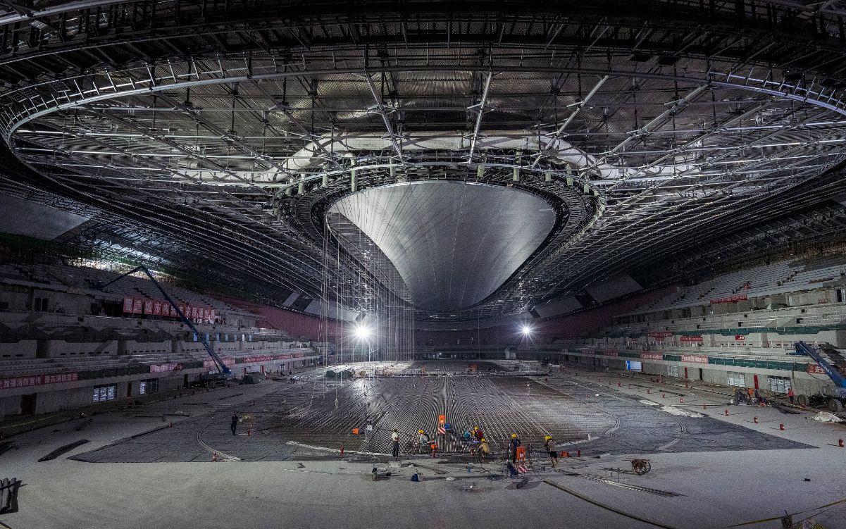 北京冬奥会北京赛区10个场馆年内完工,年底将迎测试赛图片
