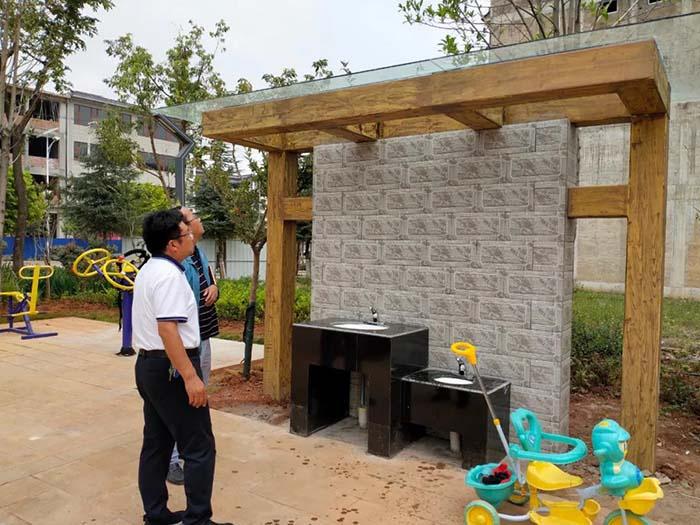 永胜:一定要做好水槽的民生工程