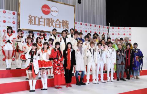 2018年红白歌会(图源/《每日新闻》)
