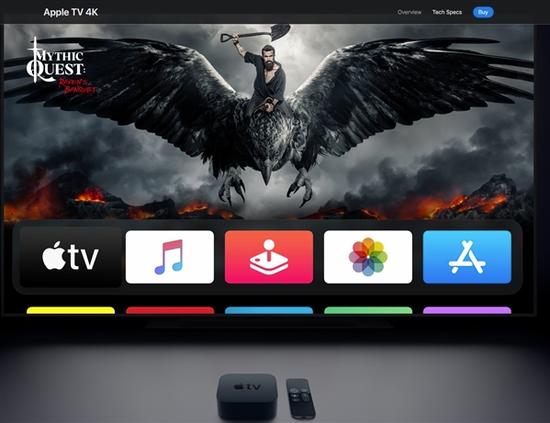 苹果悄然发布新Apple TV 4K 性能强劲令人瞩目