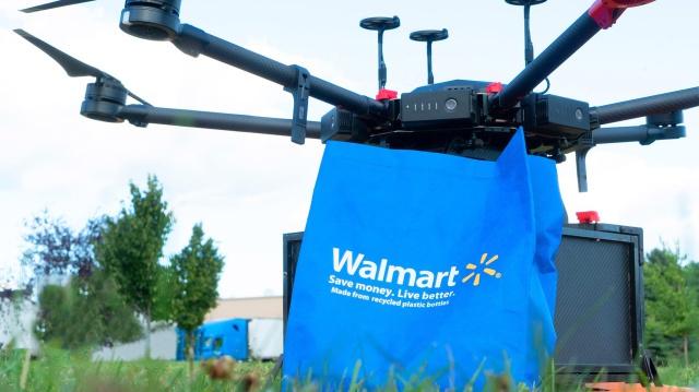 沃尔玛在美国北卡罗来纳州试行无人机送货服务