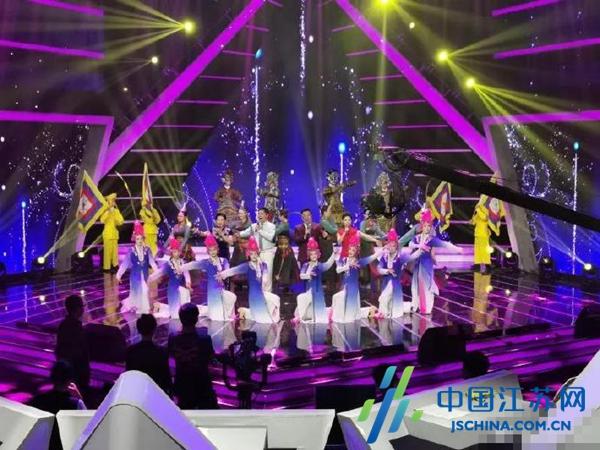 射阳县淮剧团第三次走进央视 用戏曲和歌舞展现家乡魅力