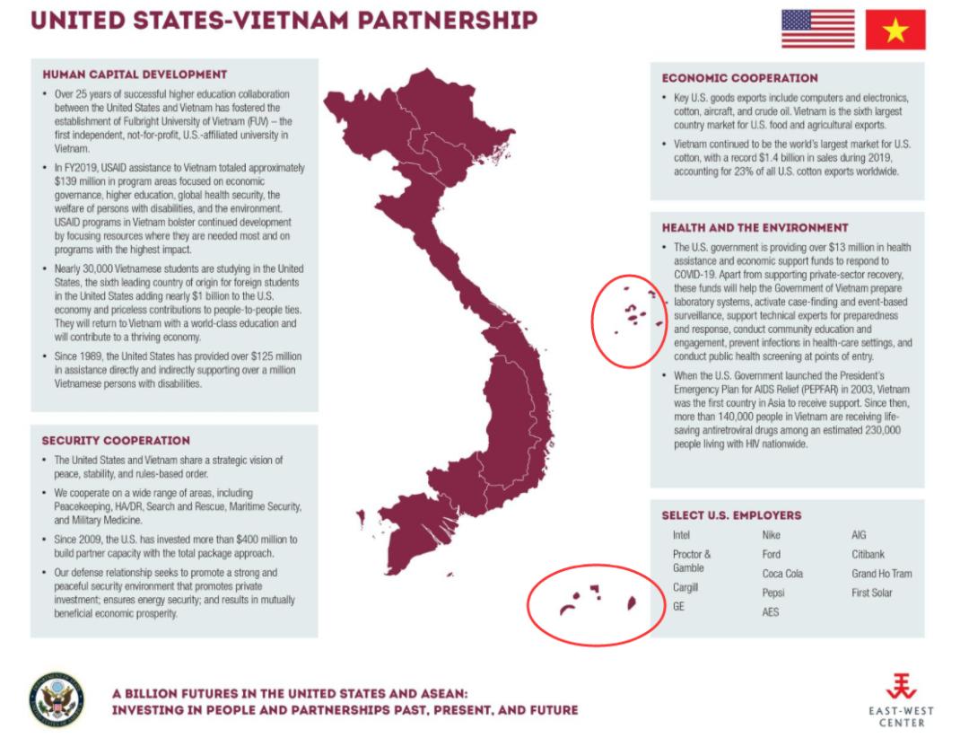 美国驻越南大使馆玩了一招阴的,越南网民的反应亮了
