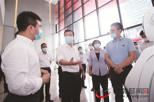 肖亚非:积极对接深圳,进一步激发东莞高质量发展的新动能图片