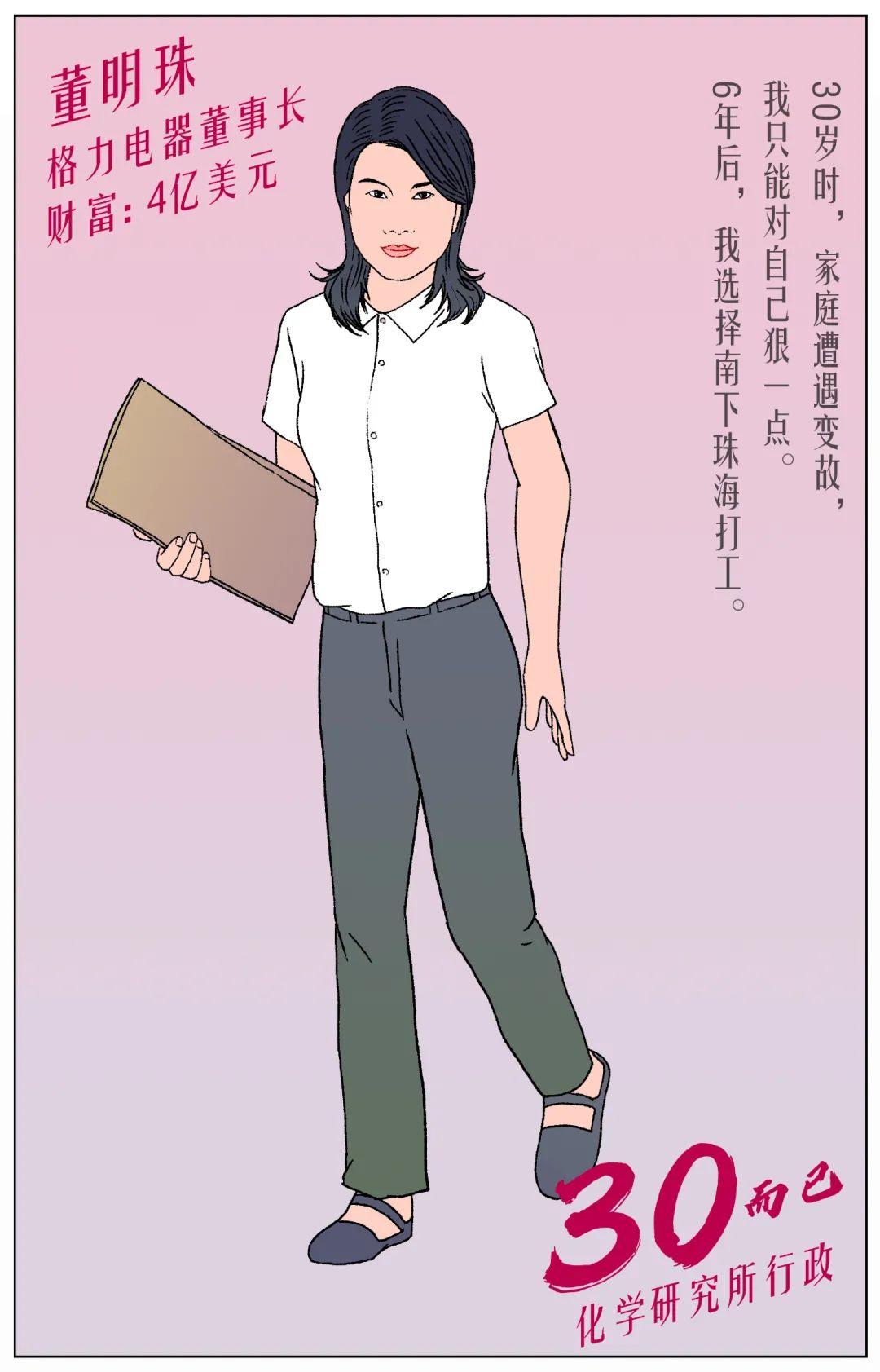 三十而已:董明珠当行政童文红做前台 白手起家的女首富在教化学