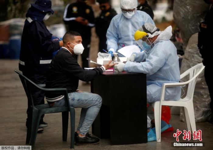 秘鲁新冠确诊超71万例 内政部长上任56天后宣布辞职