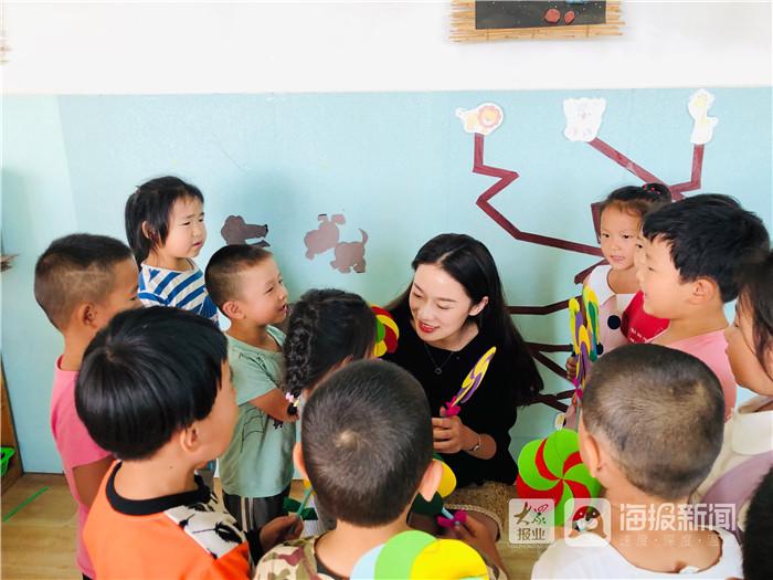 利津县罗婷镇马贝社区幼儿园教师节运动