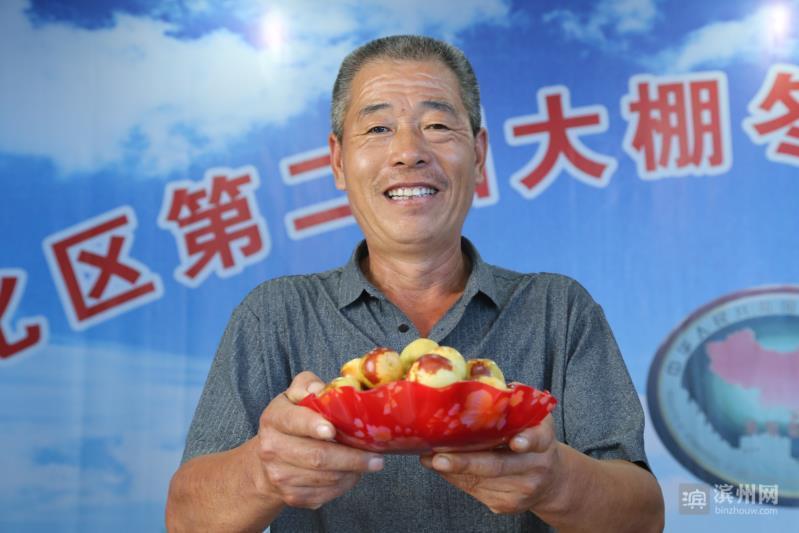 """杨秀峰 年入百万的枣农 连任""""沾化冬枣"""