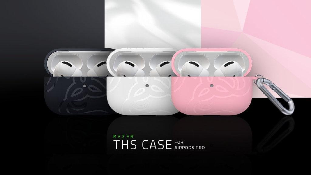 雷蛇为苹果 AirPods Pro 推出保护壳,黑白粉三色