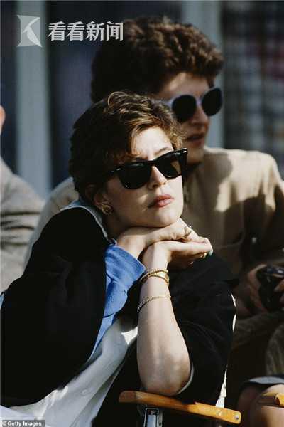 帕特里夏·古驰,拍摄于1987年