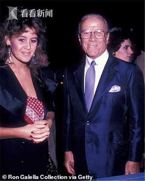1982年,帕特里夏·古驰和父亲奥尔多·古驰