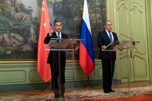 王毅点赞中俄关系取得的成就 谈中俄未来四大合作方向图片
