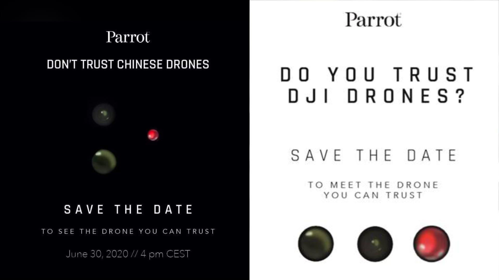 Parrot发布会、宣传会海报