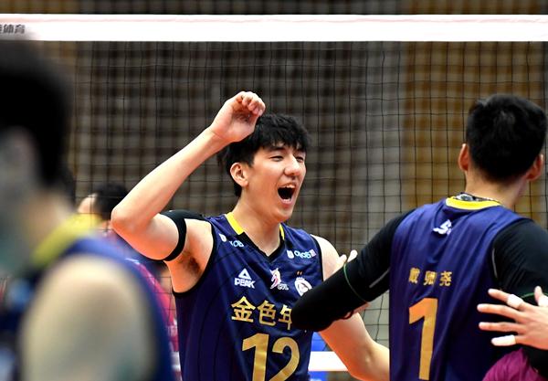 男排联赛最佳阵容:沈琼最佳教练 上海四人入围