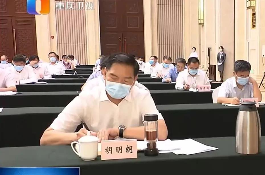 陕西副省长、省公安厅长胡明朗赴任重庆图片