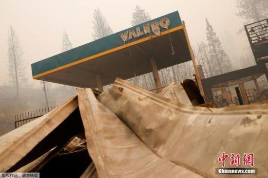 美国加州遭遇严重山火。