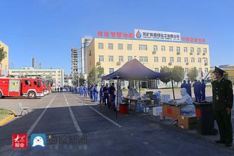 山能集团兖矿新疆煤化工公司:预防疫情的措施总