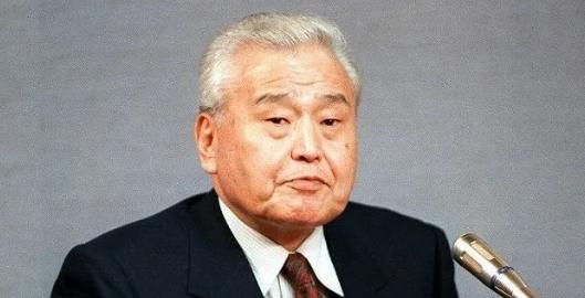 菅义伟的政治恩师小此木彦三郎。