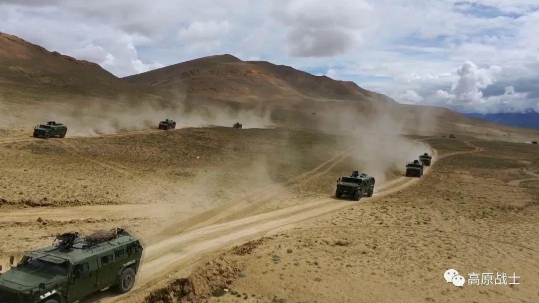 部队抵达待机地域