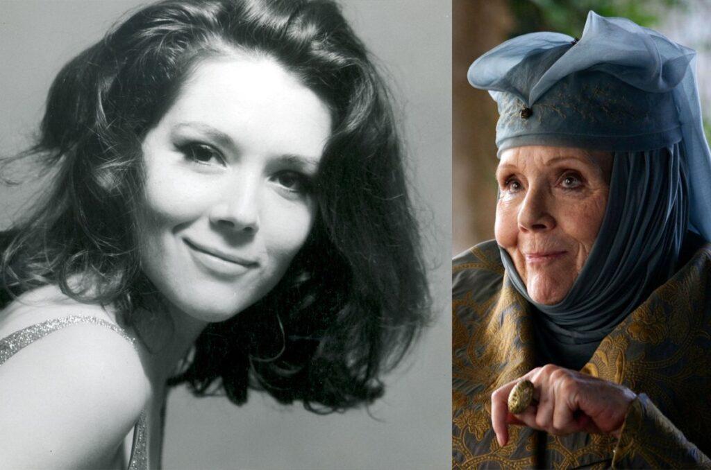 乔治·马丁发文悼念荆棘女王扮演者戴安娜·里格图片