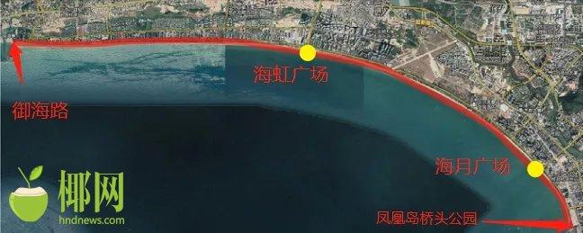 三亚湾15公里景观将全新升级!事关广场、跑道、停车场……