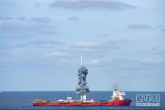 """大陆火箭""""从台湾上空飞过"""",谁在惊恐?图片"""