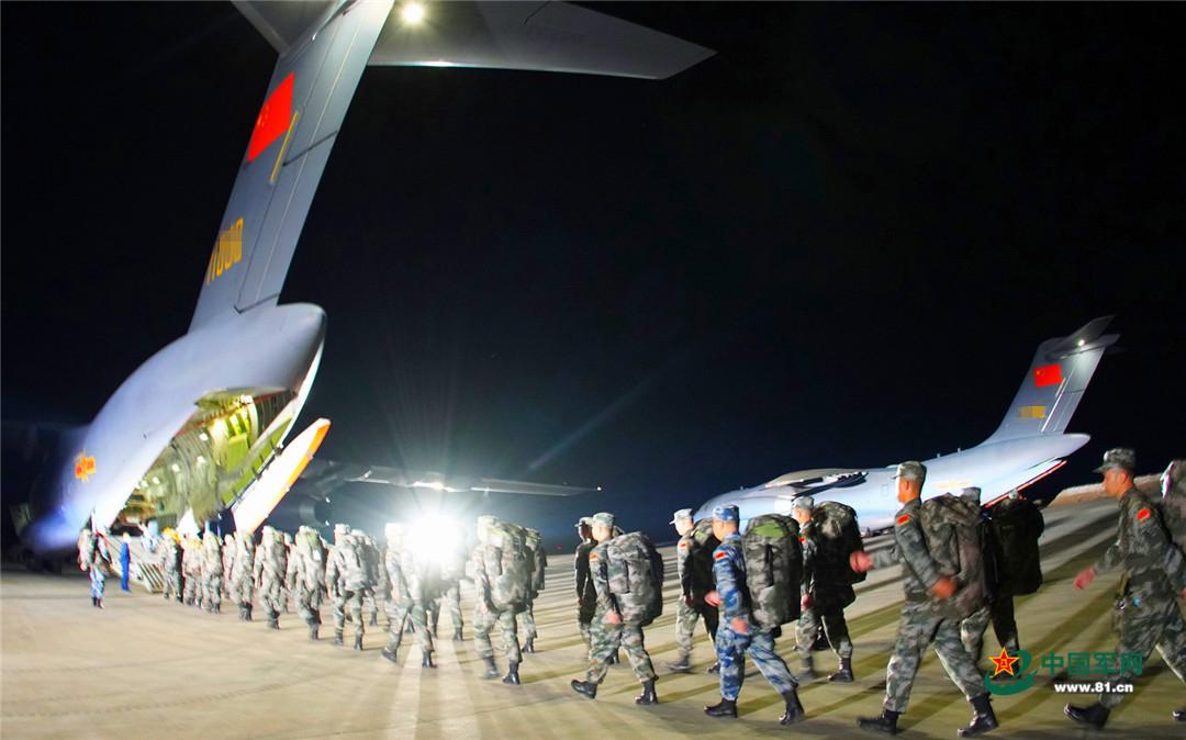 """中方参加""""高加索-2020""""战略演习官兵全部抵达预定地域图片"""