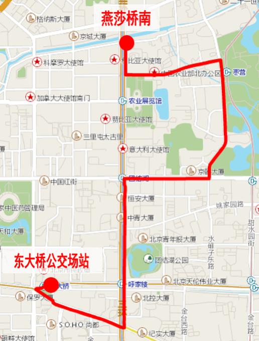 北京公交:拟于9月22日起新开、调整11条公交线路图片